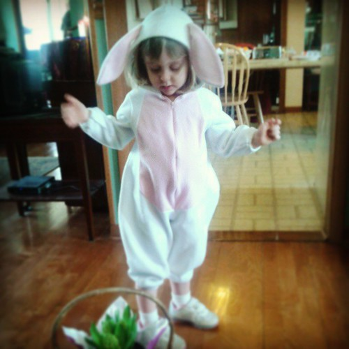 The Easter bunny is here