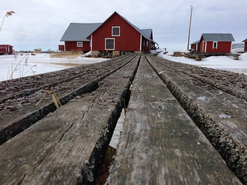 Svedjehamn harbour