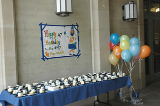 On April 7, 2011, Pomona College celebrated the 47th birthday of 47 at Smith Campus Center.