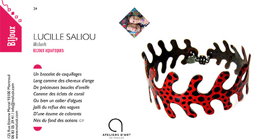 Page Molusk dans Catalogue St Leu Art Expo