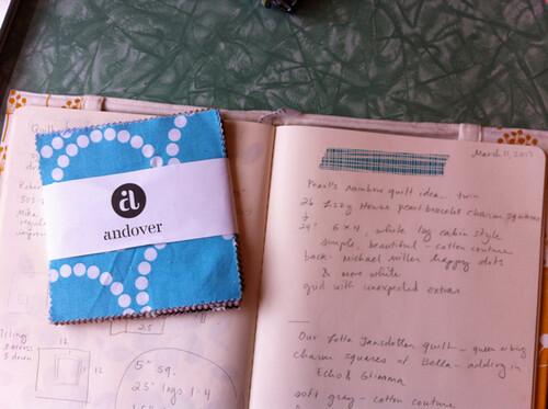 charm pack and sketchbook.jpg