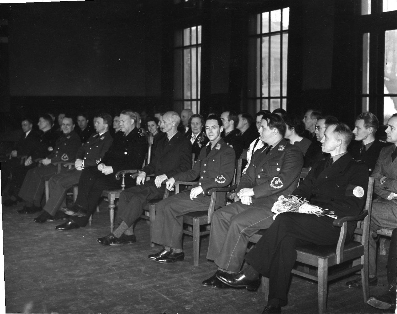 Quisling i Skien. 1942/03/06.