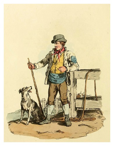 006-Boyero- Picturesque representations of the dress and manners of the English-1813-William Alexander