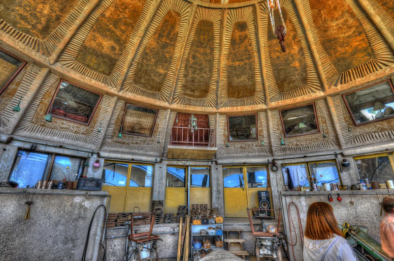 r.i.p Paolo Soleri, 4/9/2013   founder of Arcosanti