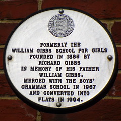 Photo of White plaque number 2078