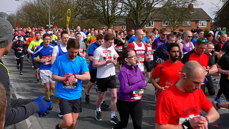 Lincoln 10k Race - Timecheck