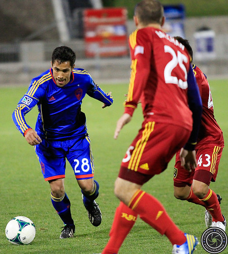 Davy Armstrong, Reserve Match, Colorado Rapids vs Real Salt Lake Apr. 6th 2013 by Corbin Elliott Photography