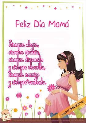 para compartir frase del dia de la madre 2013 tarjeta para descargar