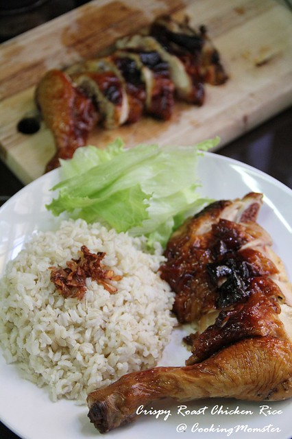 Crispy Roast Chicken Rice b