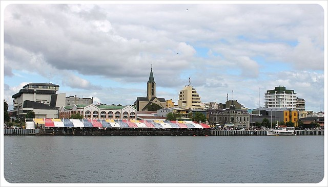 valdivia riverside and fish market