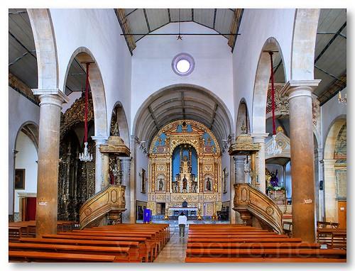 Interior da Igreja Matriz de São Pedro by VRfoto