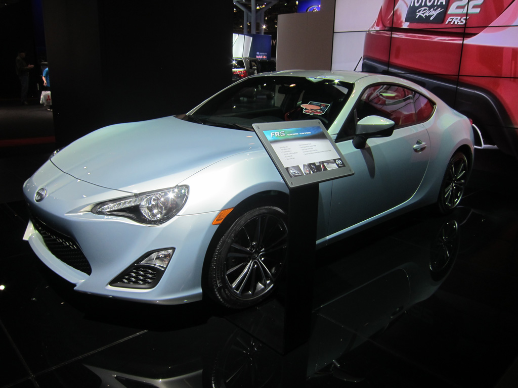 Scion 10 Series FRS Silver Ignition