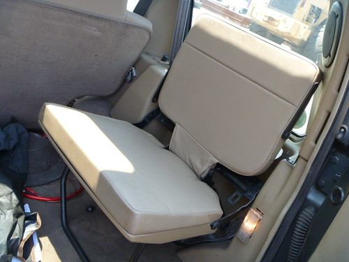 Land Rover Rear Jump Seats In Jeep Tj Jeep Wrangler Forum