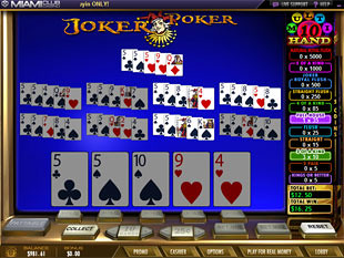 Joker Poker Mega Multi-Hand