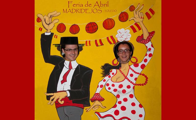 Ferias de Abril en Madridejos, organizadas por Sergio Zamorano