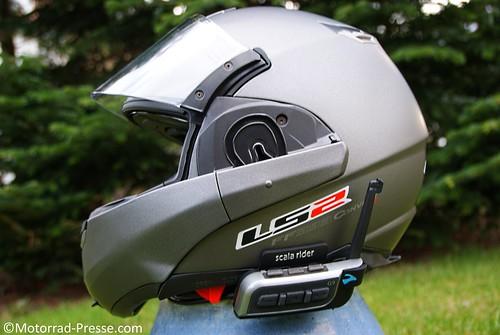 Cardo G9 an LS2 Convert 393