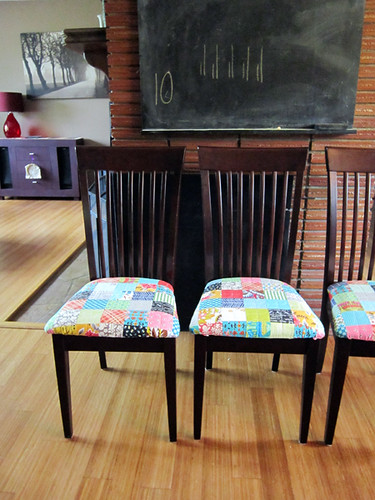 Patchwork chair love