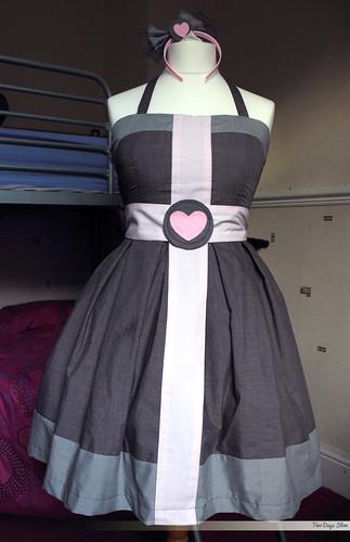 Companion Cube Dress - Front
