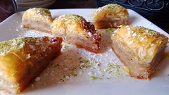 Persian Baklava at Caspian Restaurant | Bellevue.com
