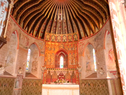 Inside Hascombe Church