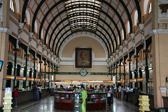 Interior of the Saigon Central Post Office