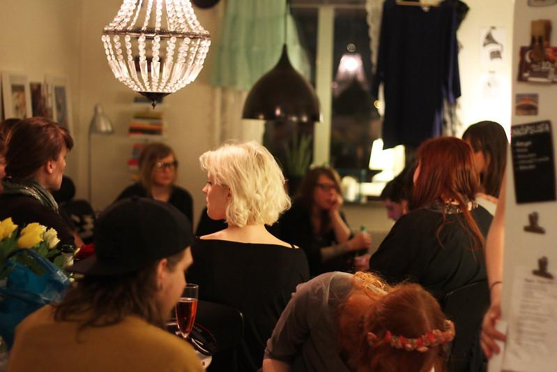 inflyttningsfest på idaborgsgatan!