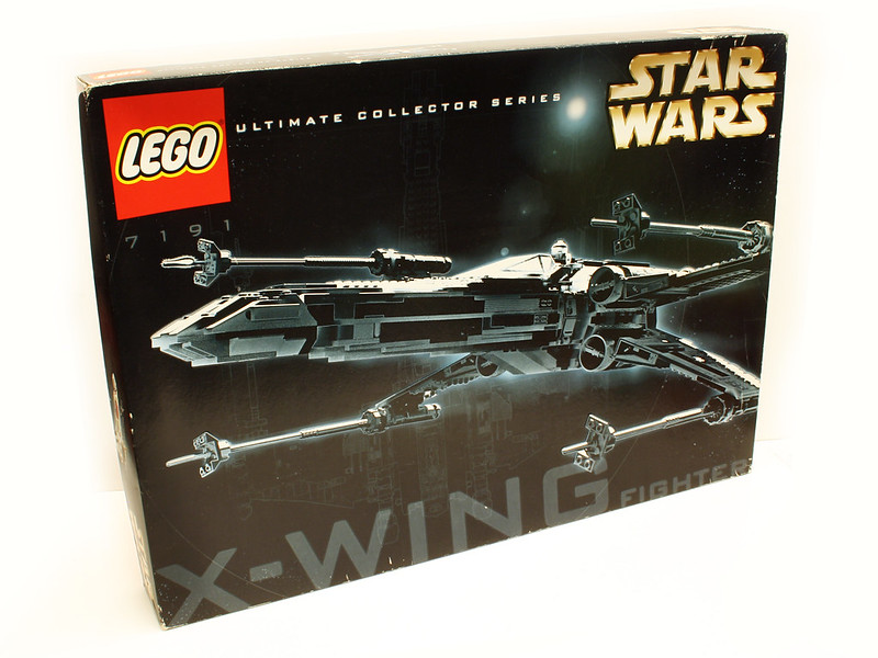 lego x wing instructions 7191