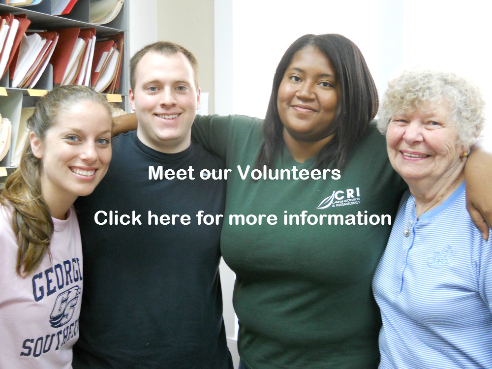 meet our volunteers
