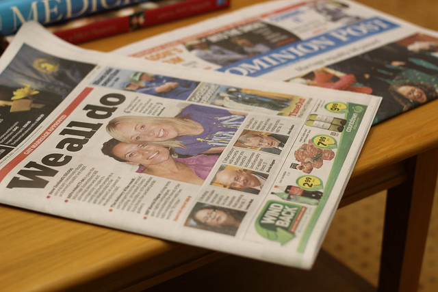 Thursday: 77:44 Marriage Equality Newspapers
