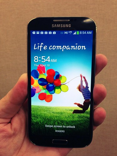 Pretty impressed with the Samsung Galaxy S4 so far
