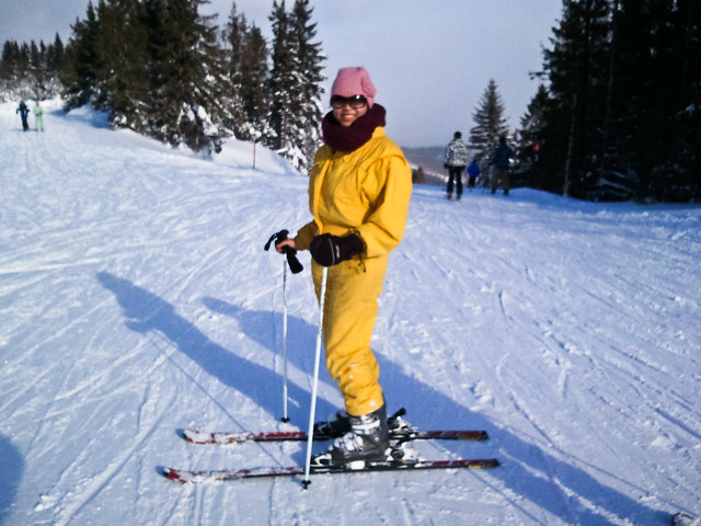 Rocking the Yellow Onesie | | Bachledova Ski, Slovakia
