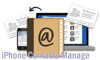 iPhone contacts manage
