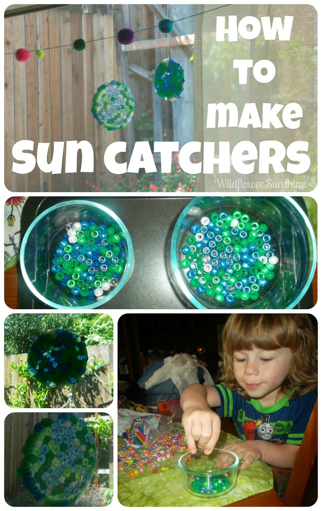 2013 Earth Day Sun Catcher Collage2