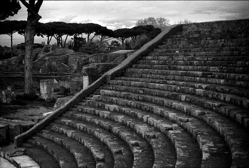 Theater in Ostia Antica