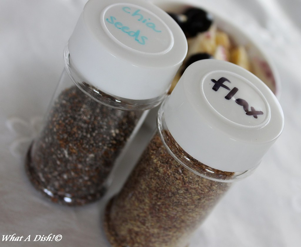 Chia & Flaxseed for Oatmeal
