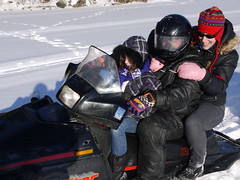 racing(0.0), motorcycling(0.0), auto racing(1.0), winter sport(1.0), vehicle(1.0), snow(1.0), snowmobile(1.0),