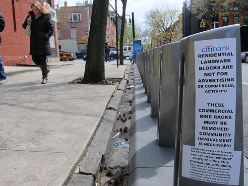Citi Bikes beef, Fort Greene