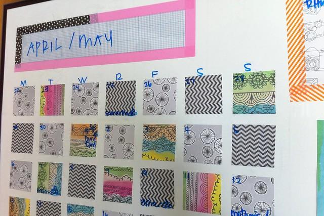 Dry Erase Calendar/Organizer