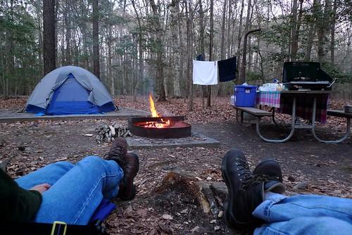 Campsite #19 - Merchants Millpond State Park - near Gatesville, NC