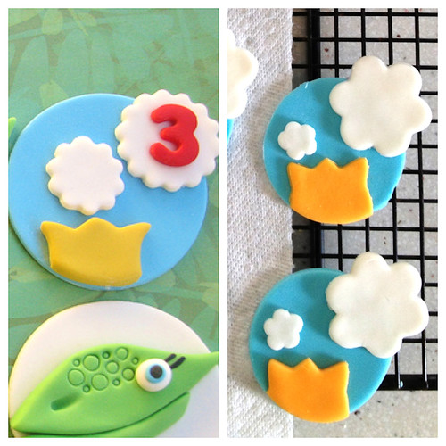 Dinosaur Train Fondant Cupcake Toppers