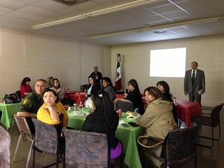 Reunión mensual inter agencias en Del Río, TX