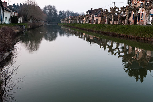 france canal riviere loing loiret