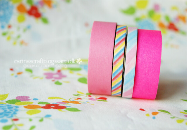 Pink tape!