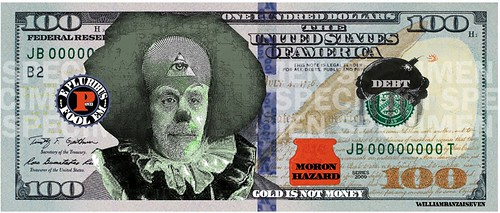 NEW 100 DOLLAR BILL by WilliamBanzai7/Colonel Flick