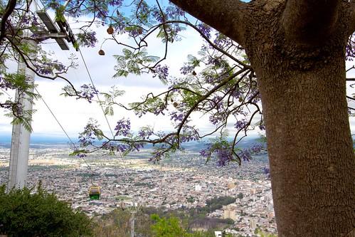 Vistas de Salta desde el Cerro San Bernardo