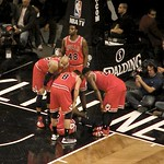 Nate Robinsons Bulls Teammates Make Sure Hes Okay