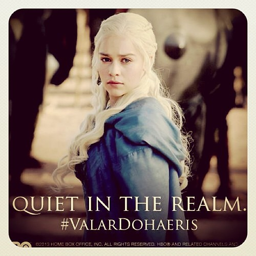 Love Love Love her even more right now! Just watched S3E4! Awesome! #hbo #gameofthrones #khaleesi #daenerys #targaryn #stormborn by rabbitandrobin