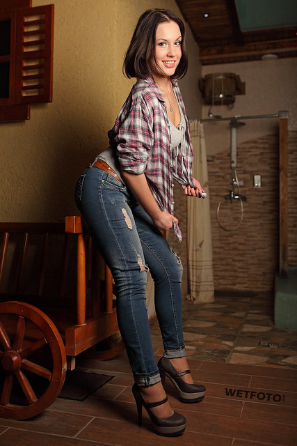Flickriver Photoset Wetlook With Sexy Girl In Wet Tight Jeans 257 By Wetlook With -7812