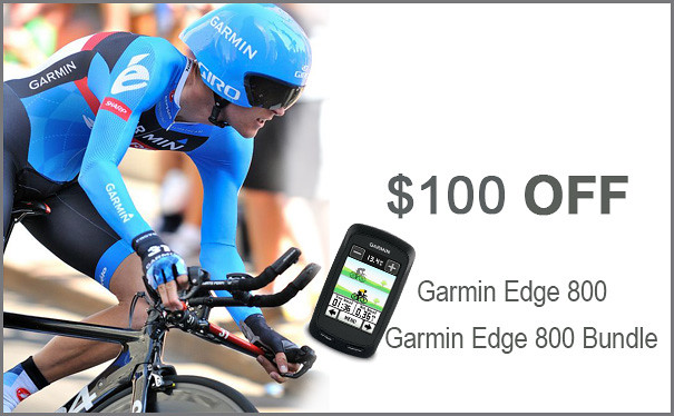 Garmin Edge 800 $100 Off with rebate