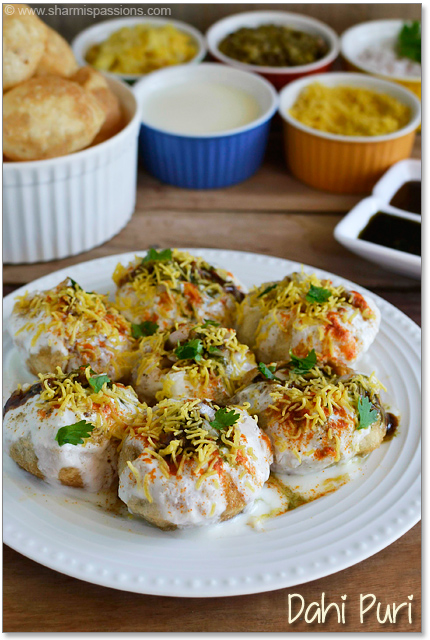 Dahi Puri Recipe